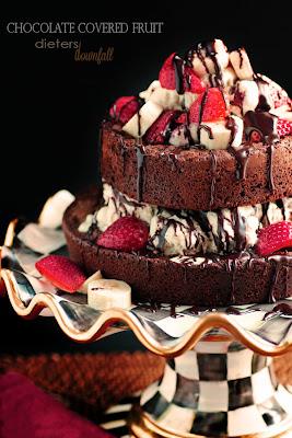 Homemade, Brownies, Strawberry, Banana, Ice Cream, Hot Fudge, dessert