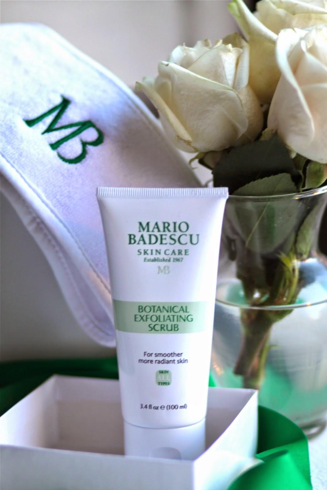 Mario, Badescu, skin, care, botanical, exfoliating, scrub