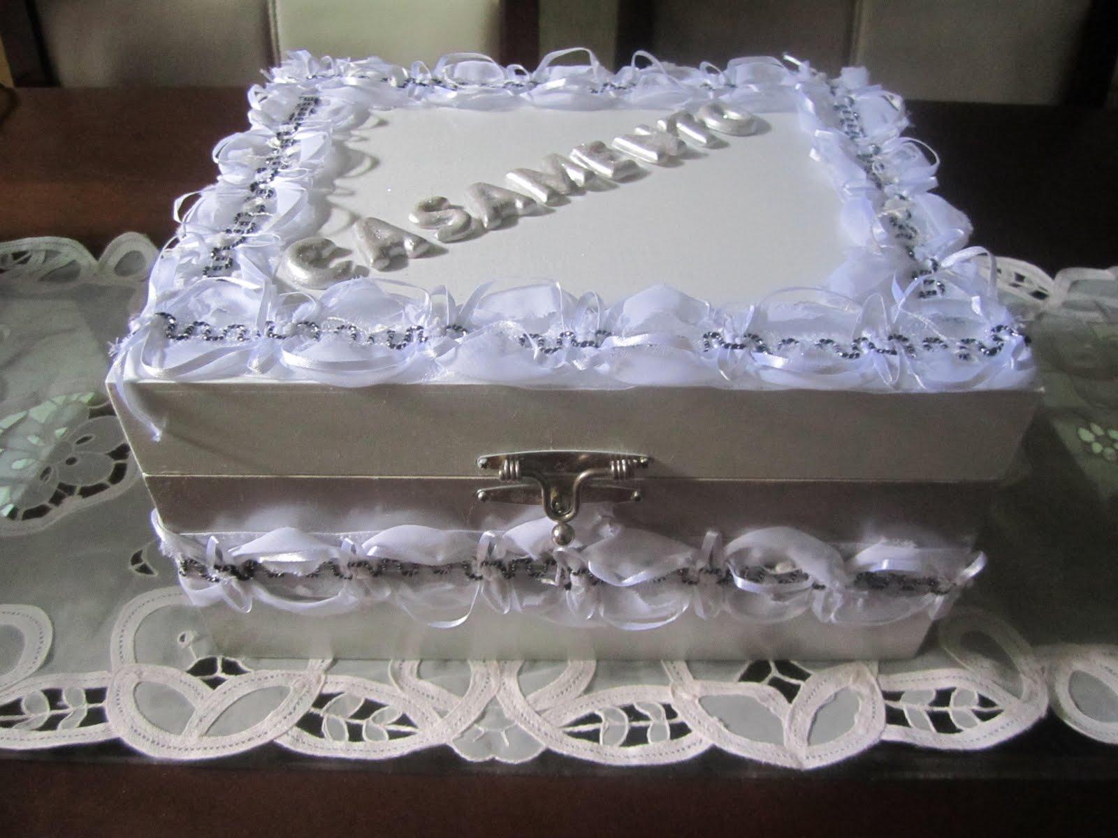 Marília Ateliê: Caixa MDF para Casamento #4E567D 1600x1200