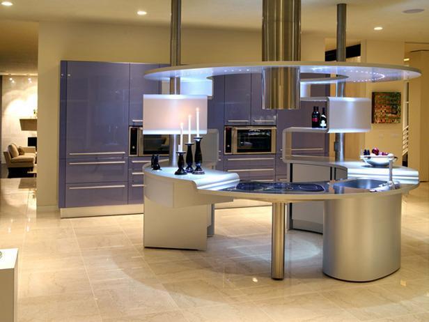 futuristic kitchen design 2012