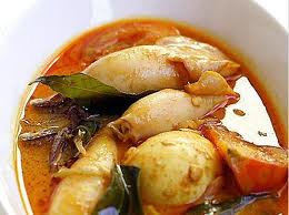 Gulai Cumi (Squid Curry) Cooking Recipe