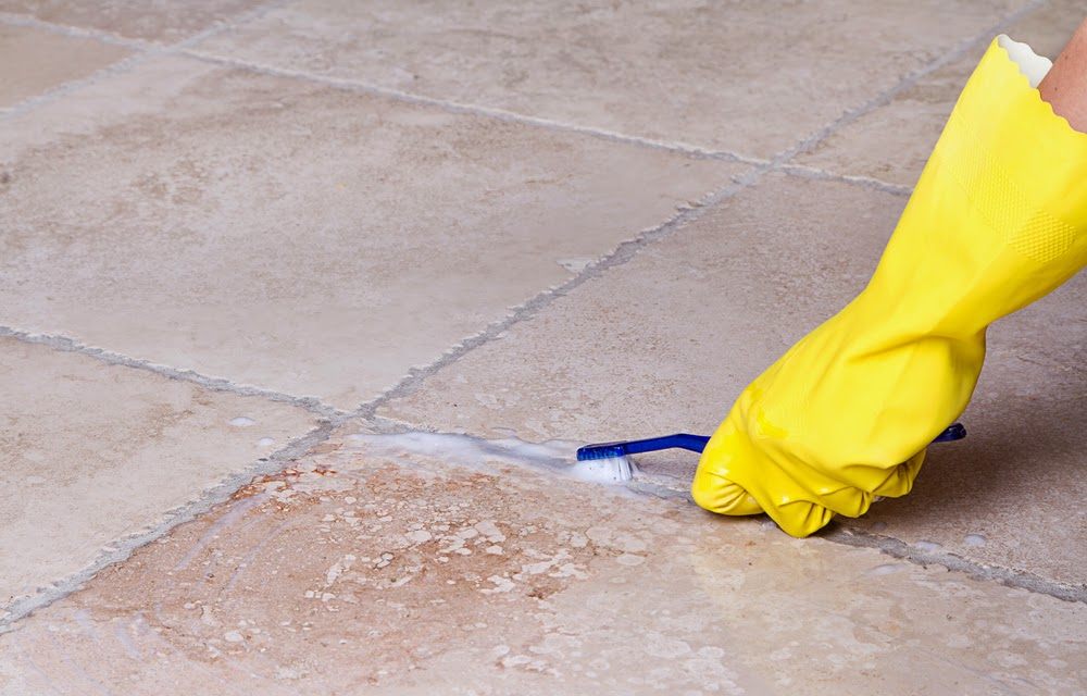 Floors For Less Simple Ways To Clean Your Tile And Grout