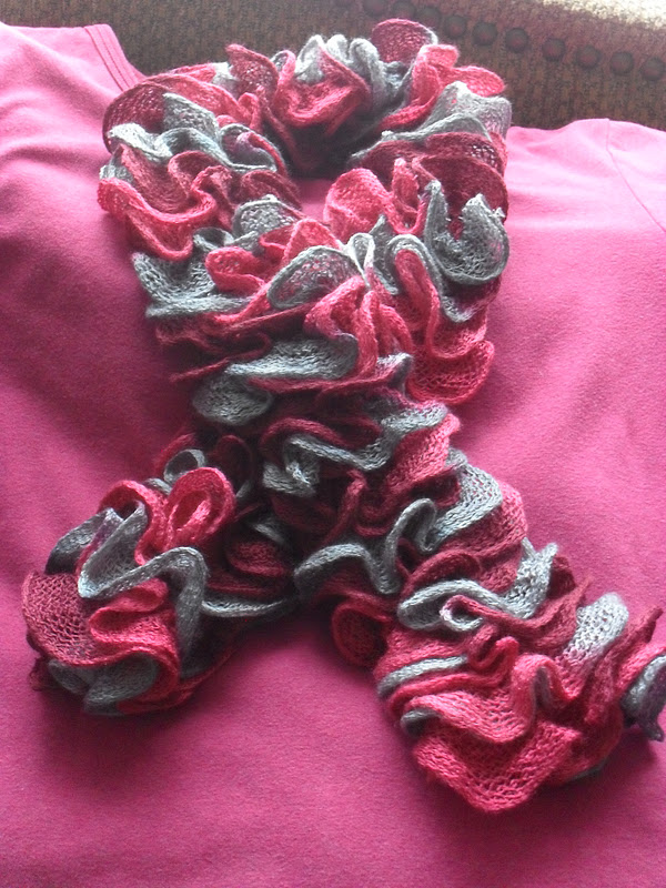home frosting ruffle scarves