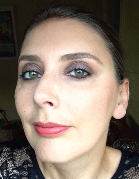 Giorgio Armani Eye Tint in 10 Senso - cream eyeshadow: worn on eyes full face swatch fotd