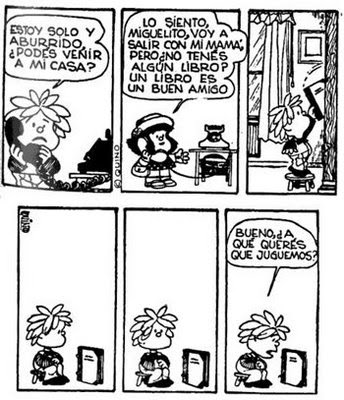 viñeta de Mafalda