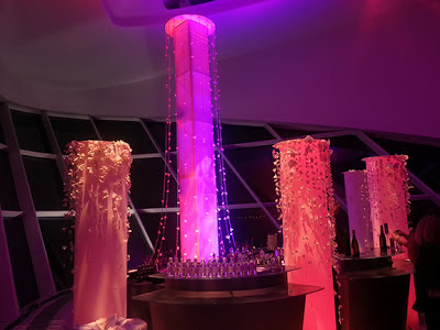 Wedding decor column