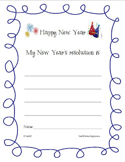 New Years Teaching Ideas