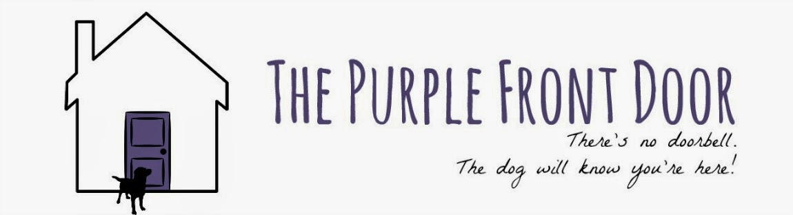 The Purple Front  Door