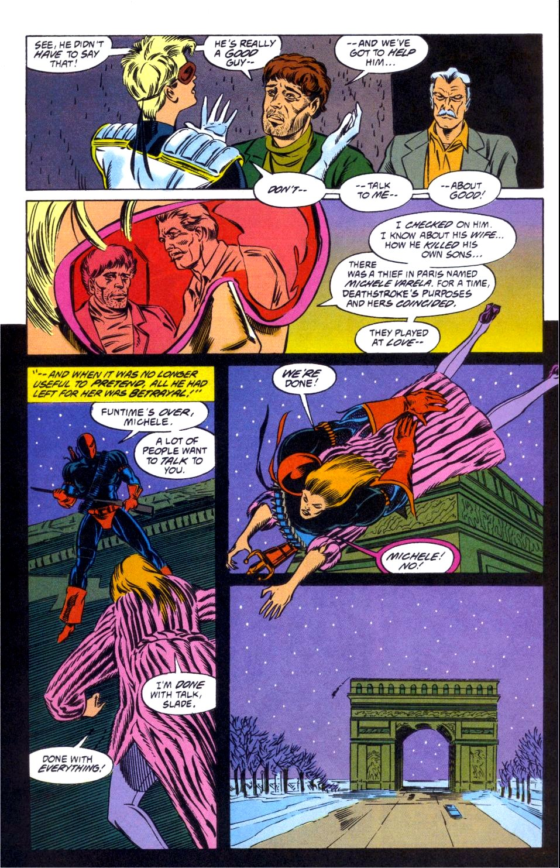 Deathstroke (1991) Issue #12 #17 - English 18