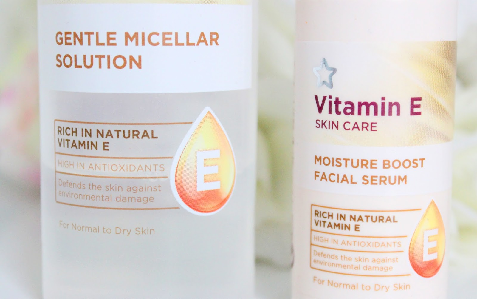 Superdrug Vitamin E skin care review