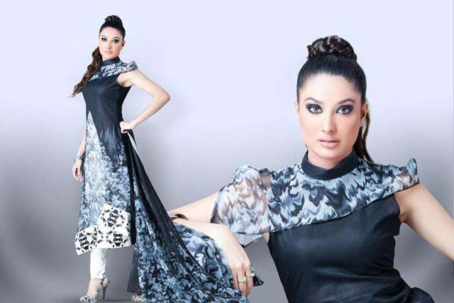 Hinzz ali Latest Party Wear Dresses 2013