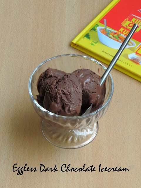 dark chocolate icecream