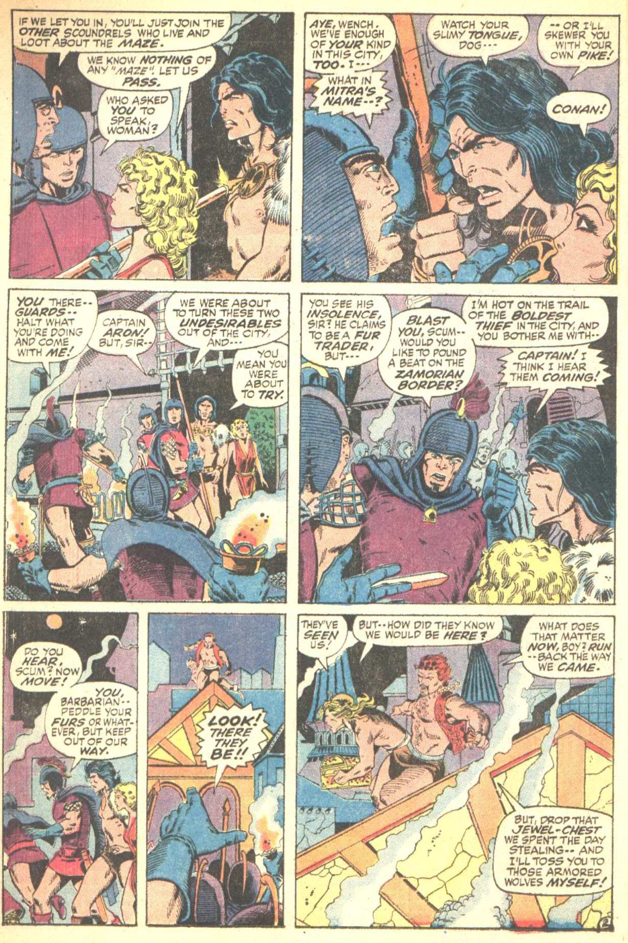 Conan the Barbarian (1970) Issue #10 #22 - English 3
