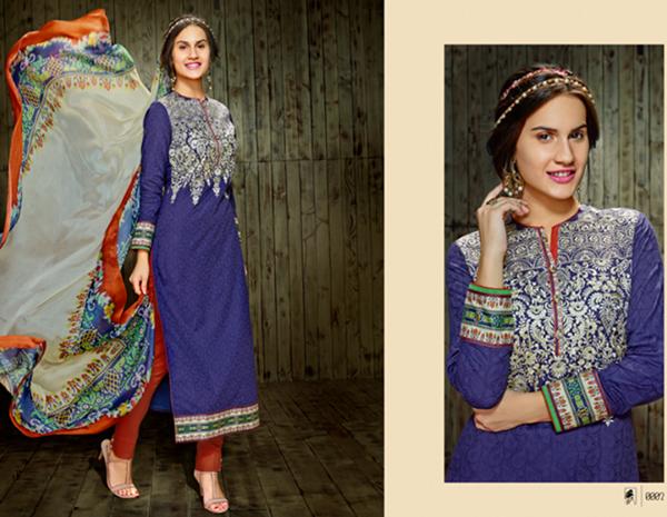 Indian Pashmina Salwar Suits 2014/15