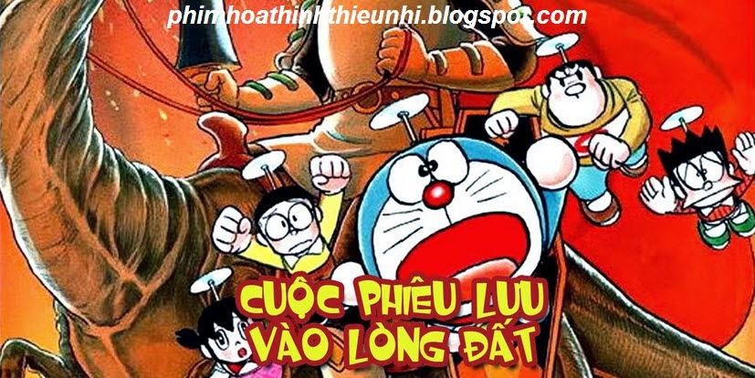Phim hoạt hình Doremon dài tập Nobita và cuộc phiêu lưu vào lòng đất