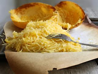 Light Spaghetti Squash Gratin