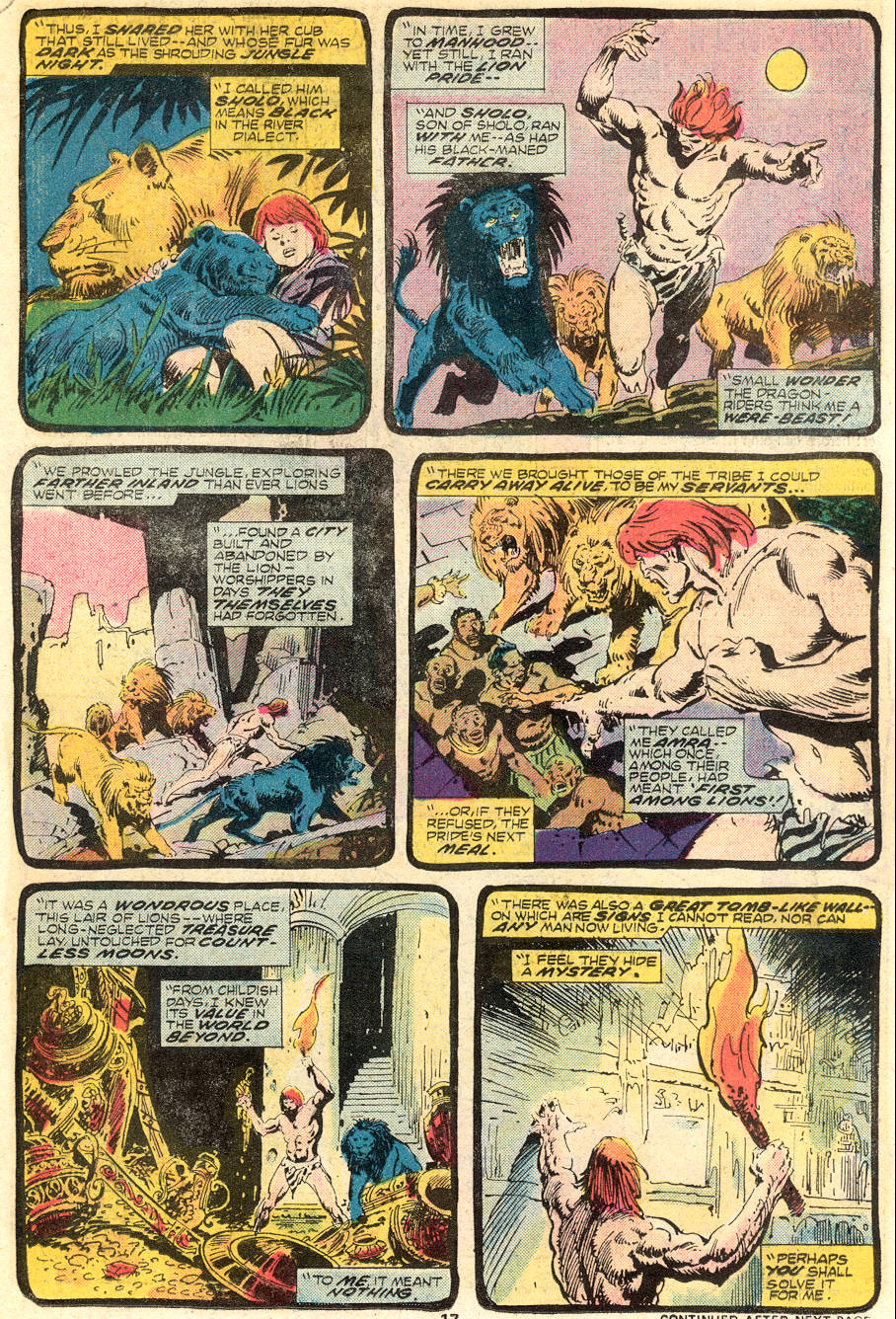 Conan the Barbarian (1970) Issue #62 #74 - English 12