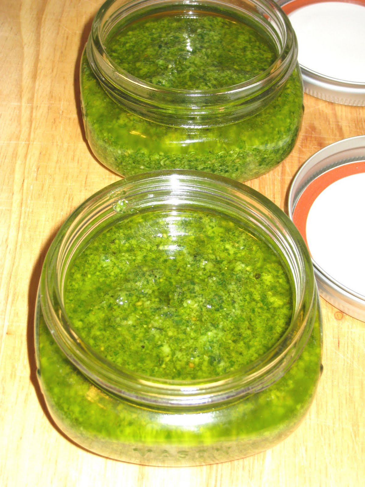Cooking without a Net: Classic Basil Pesto
