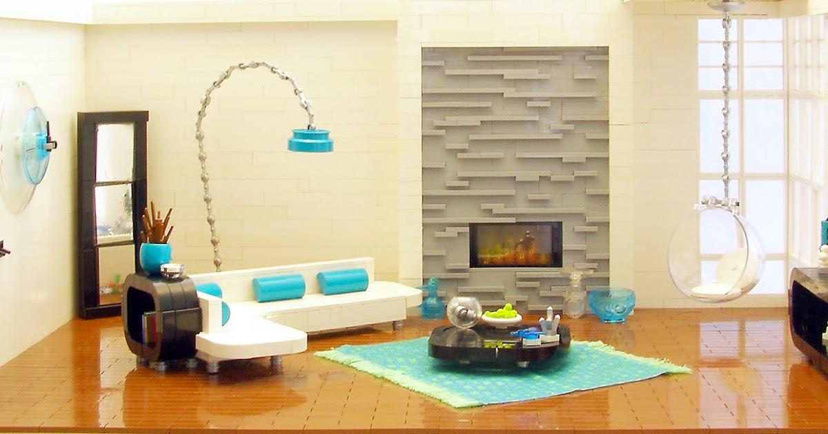 Stuff I Like Lego Interior Design Retro