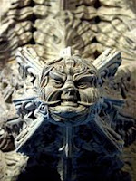 The Green Man of Rosslyn Chapel