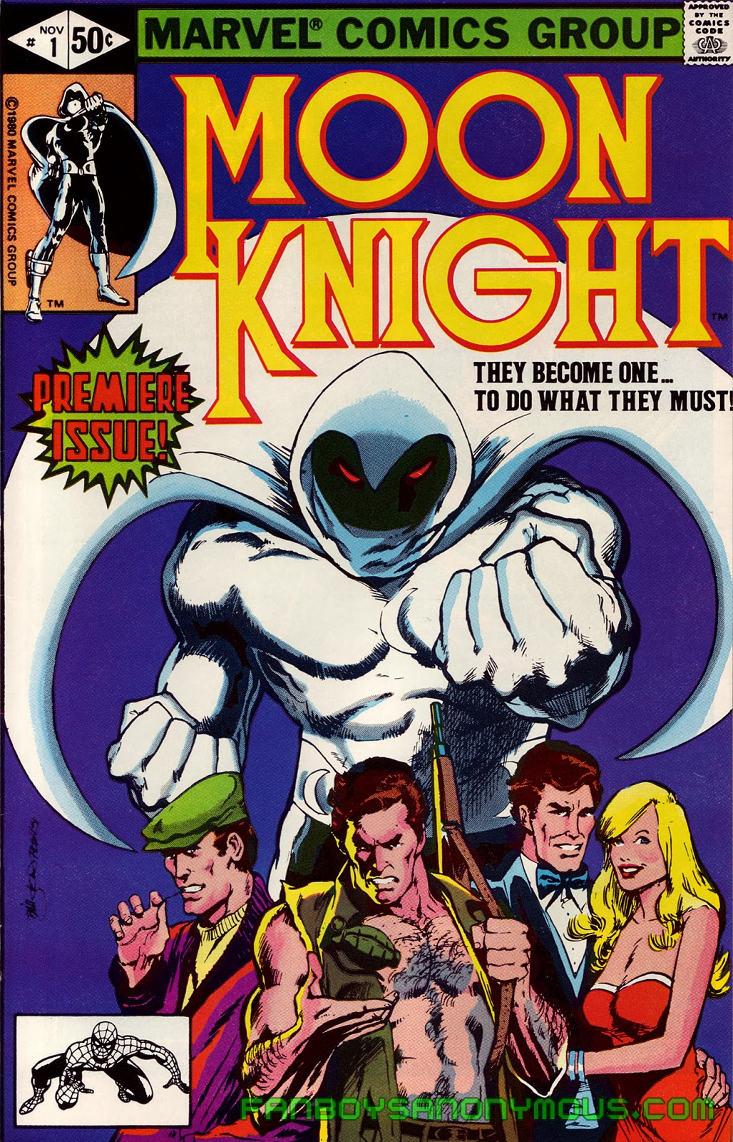 Read Moon Knight digitally on Comixology