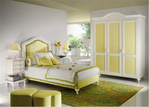 Home Plans: interior decorating bedroom ideas yellow