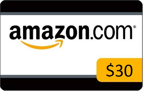 Enter Link to Win $30 Amazon Giftcard