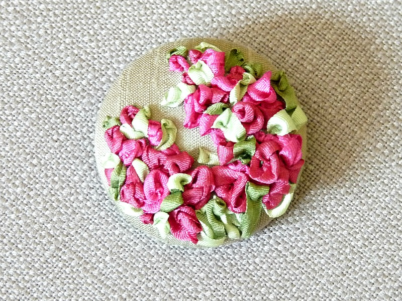 Diyd Silk Ribbon Embroidery I Need A Portable Craft Dans Le