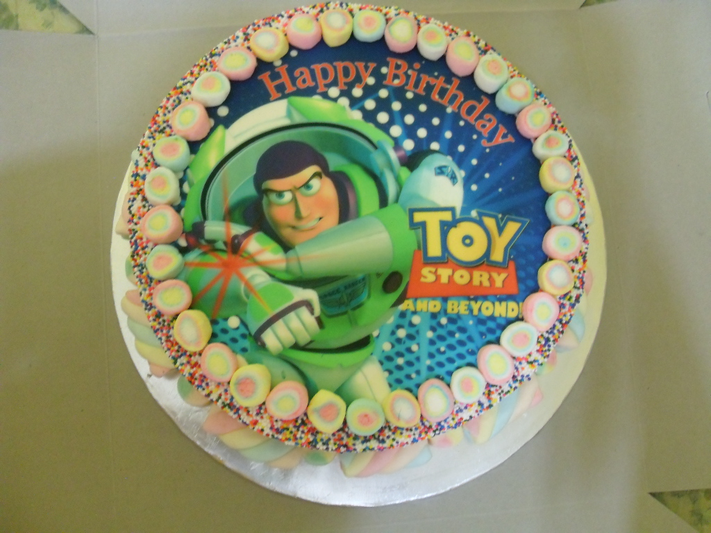 Basic Toy Story Buttercream Cake