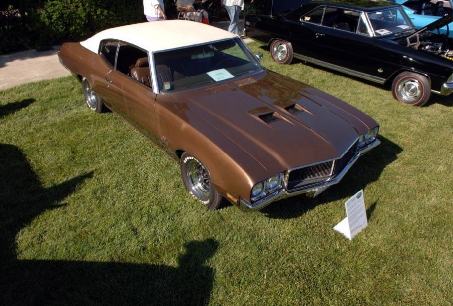 Legendary Cars: 1970 Buick GS 455