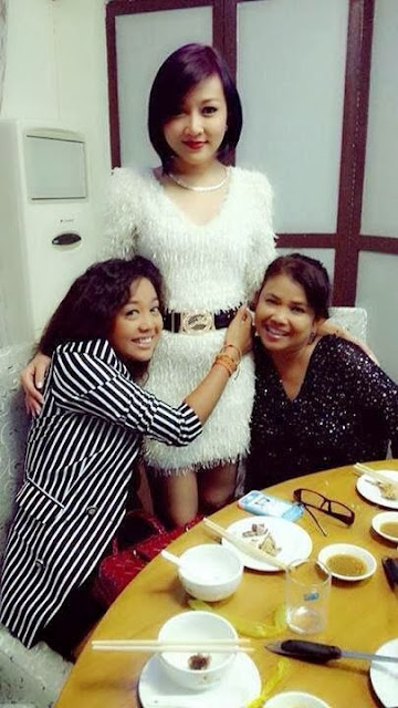 Famous Singer Wine Su Khine Thein's birthday