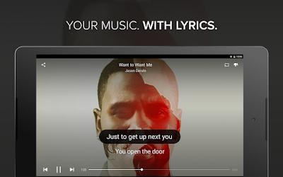 تطبيق Musixmatch music & lyrics عرض كلمات الأغاني بشكل آلي لأجهزة أندرويد