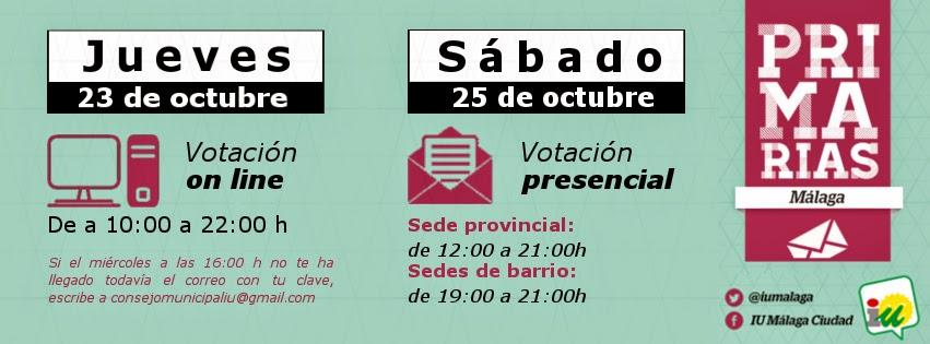 Primarias IU Málaga