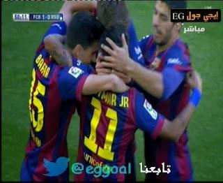 شاهد وحمل اهداف مبارة برشلونه 2-0 ريال سوسيداد