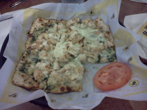 Spinach Artichoke Chicken Flatbread Spinach Artichoke Chicken