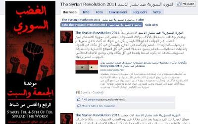 siria rivolta