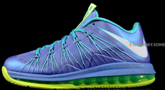 Originals Nike Air Max Lebron X Low Bright Citrus Hyper Blue-Bla