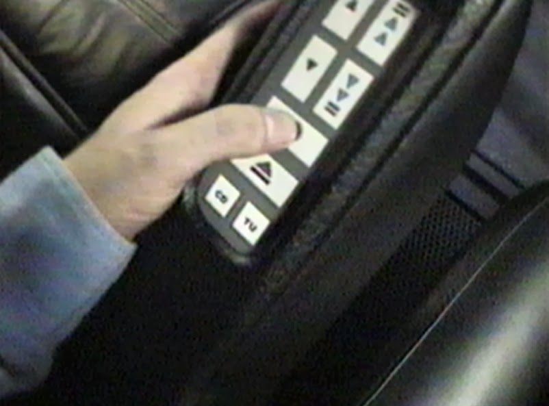 Photo image of control panel being operated