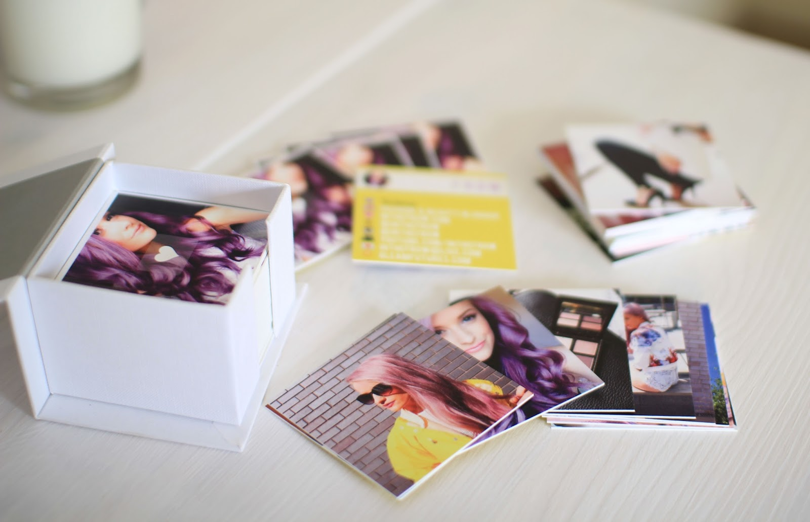 The Luxe Instagram Business Cards from moo