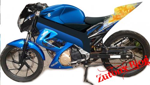 7 Gambar Modifikasi Suzuki Satria FU