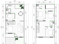 Desain Denah Rumah Lantai 2 Ilmusipilcom Review Ebooks