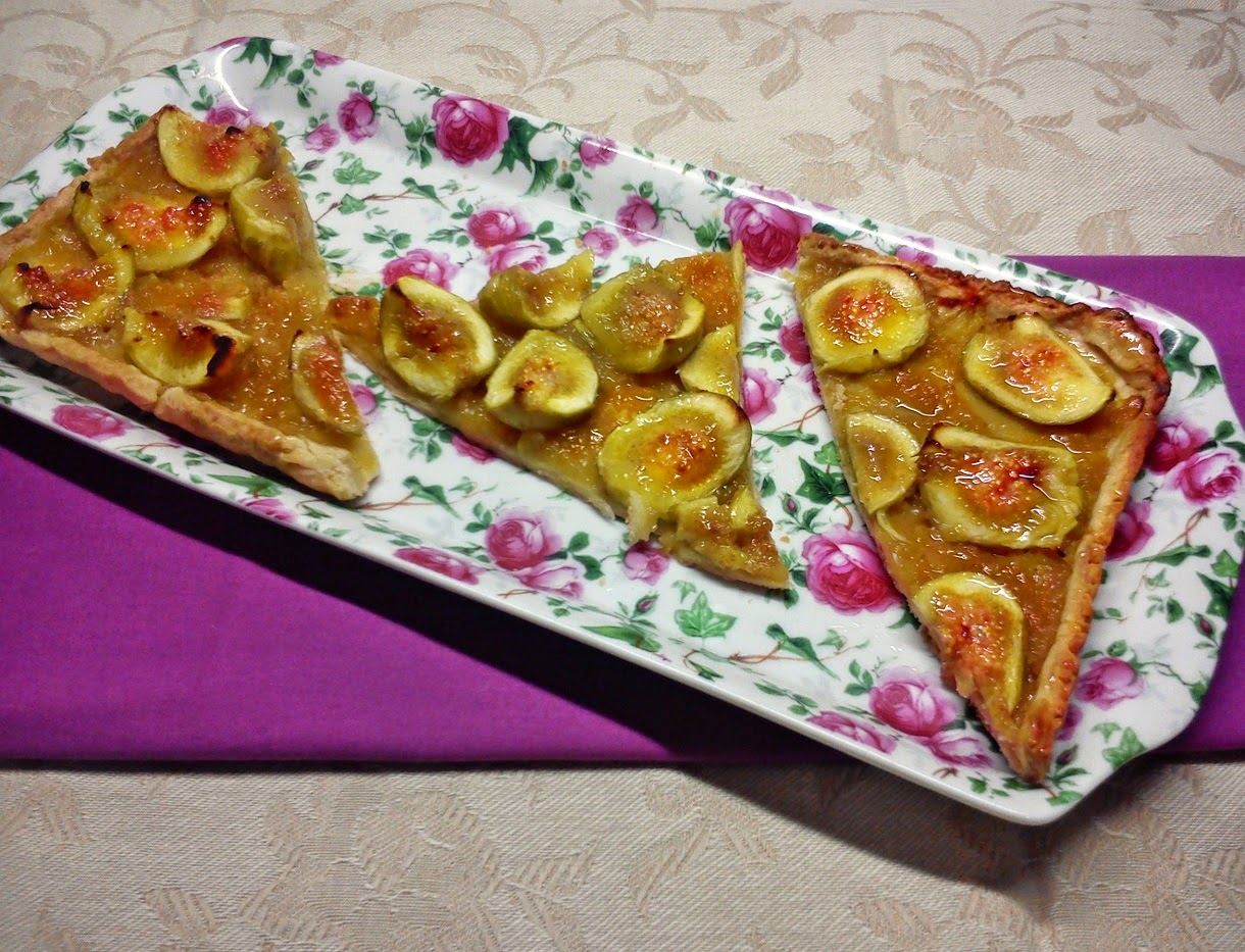 Torta de Higos con Manzana y Toque de Anis