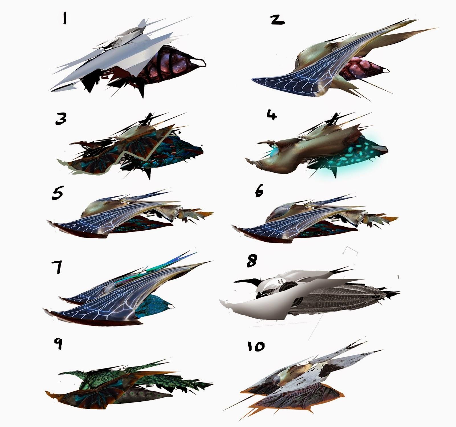Insect spaceship design finn 39 s game art blog for Spaceship design