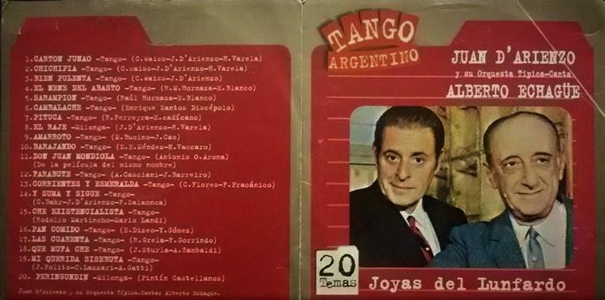 CDS DE TANGO