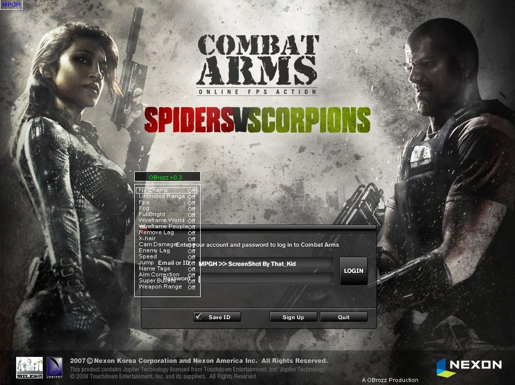 Combat Arms Brozz v0.03 hilesi