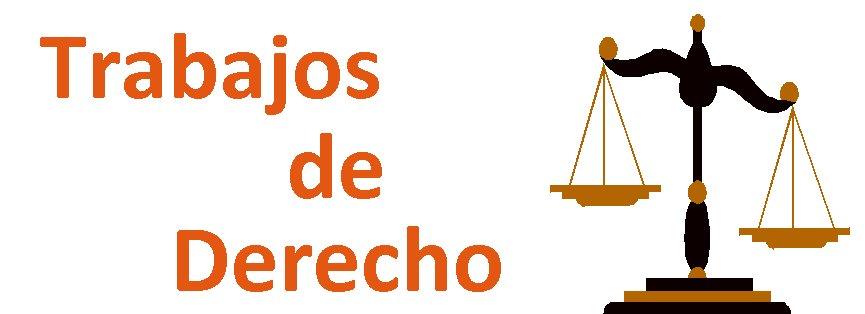 Trabajos de Derecho
