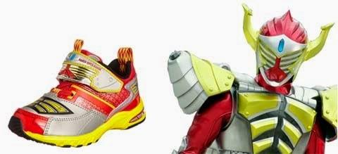Sepatu Keren Bertema Kamen Rider