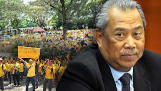 Muhyiddin tidak sertai Bersih 4.0