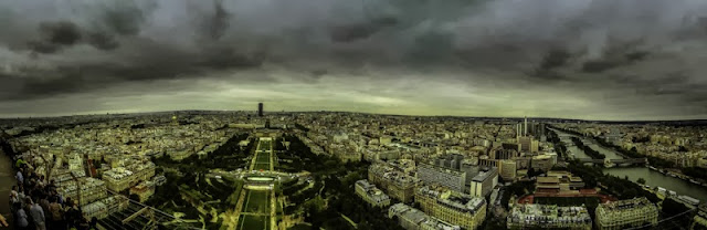 Paris Panoramica View