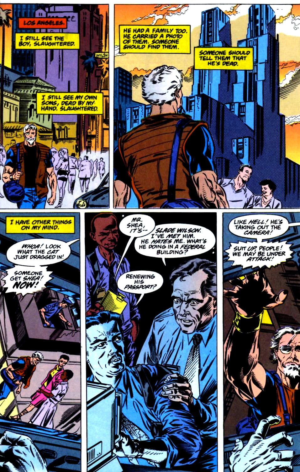 Deathstroke (1991) Issue #23 #28 - English 4
